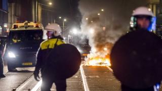 Riot in the Schilderswijk district of The Hague