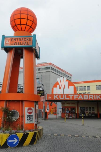 Kultfabrik in München, 2011