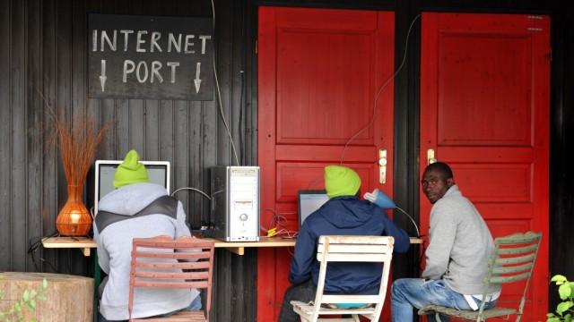 Taufkirchen an der Vils Internetzugang für Flüchtlinge