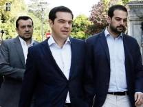 Alexis Tsipras Griechenland Referendum