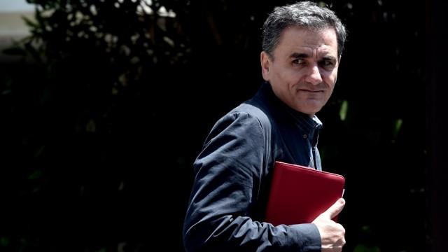 Griechenland am Abgrund Neuer Finanzminister Tsakalotos