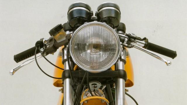 Mobiles Leben Motorrad-Historie