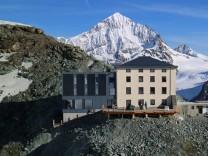Hörnlihütte am Matterhorn