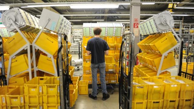 Briefzentrum der Deutschen Post in München, 2013