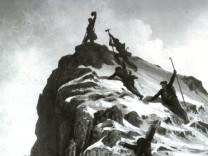 Matterhorn Zermatt Schweiz Erstbesteigung