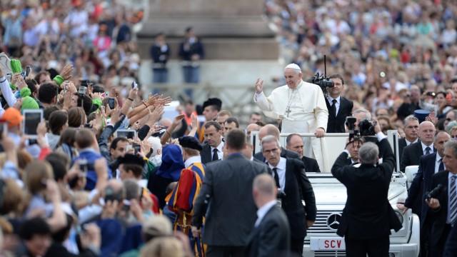 Generalaudienz Papst Franziskus