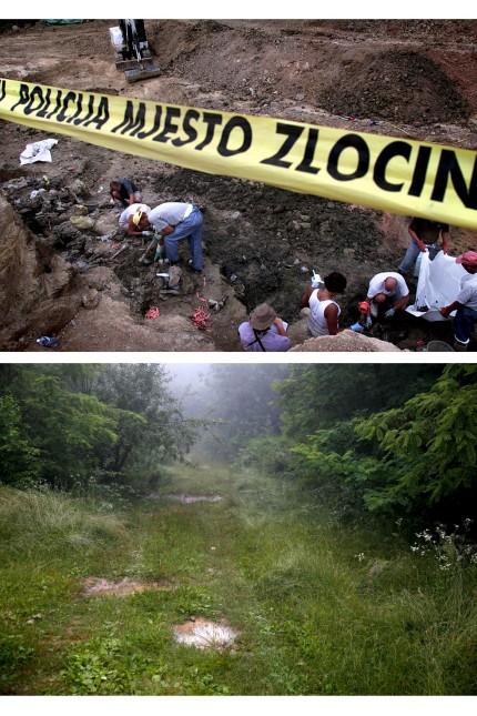 Wider Image - Srebrenica - Mass Graves Twenty Years On