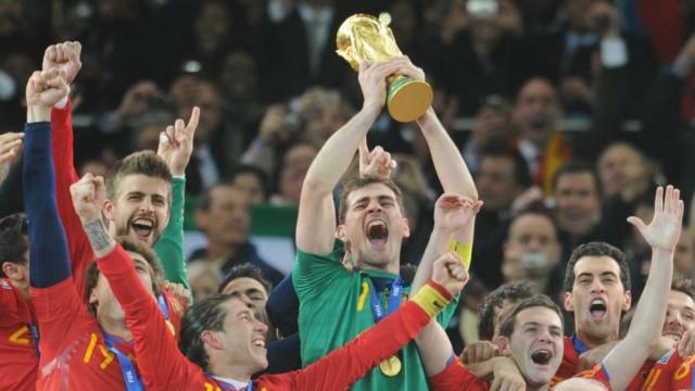 Jahresrückblick 2010 - WM 2010 Finale - Niederlande - Spanien 0:1