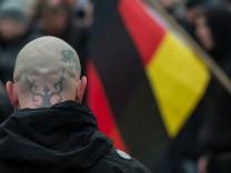 Demonstration gegen angeblichen Asylmissbrauch