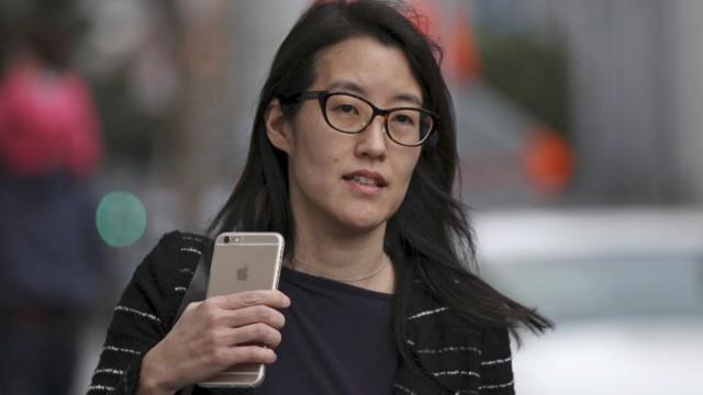 Ellen Pao arrives at San Francisco Superior Court in San Francisco