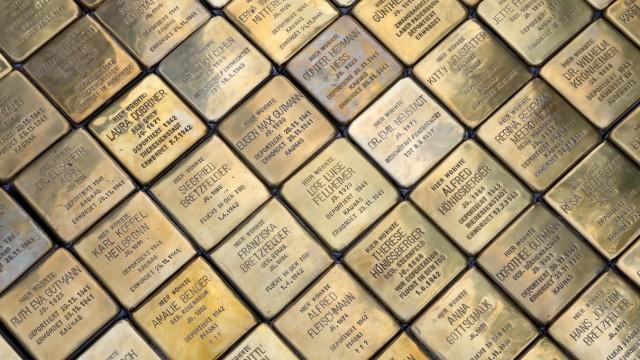 Stolpersteine Gedenken an NS-Opfer