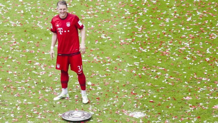 Highlights Schweinsteiger   Fussball 1.Bundesliga FC BAYERN MUENCHEN - FSV MAINZ 05 (2-0)