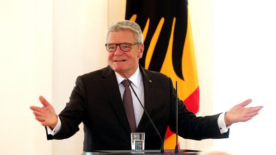 Gauck empfängt Lagergemeinschaften