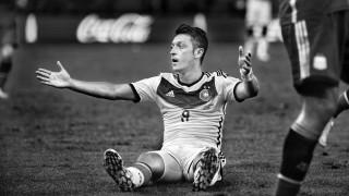 Mesut Özil im Trikot der Deutschen Nationalmannschaft