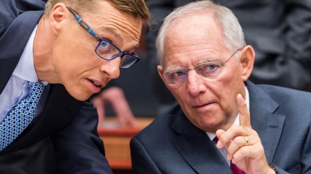 Wolfgang Schaeuble, Alexander Stubb