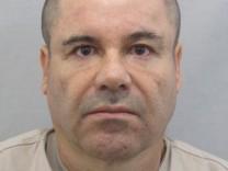 Undated handout photograph of drug lord Joaquin 'El Chapo' Guzman