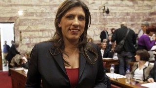 SYRIZA MP Zoe Konstantopoulou elected President of the Parliament