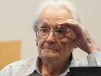Auschwitz-Prozess in Lüneburg Oskar Gröning