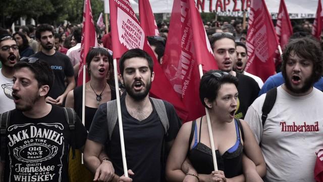 Griechenland am Abgrund Europäische Krise