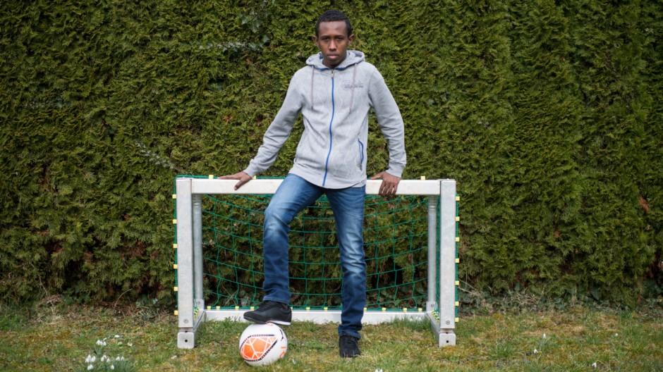 Minderjähriger Flüchtling aus Somalia