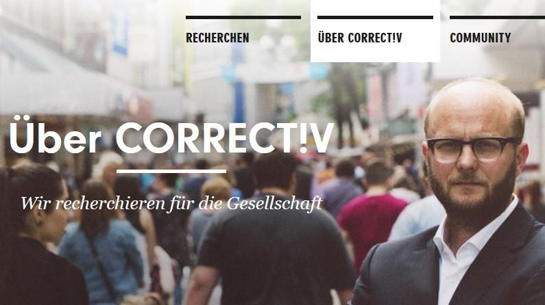 """Journalismus Ein Jahr Recherchebüro """"Correctiv"""""""