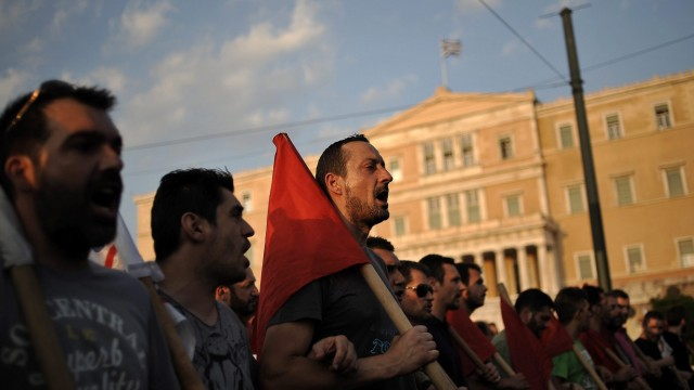 Rally Against New Austerity Measures
