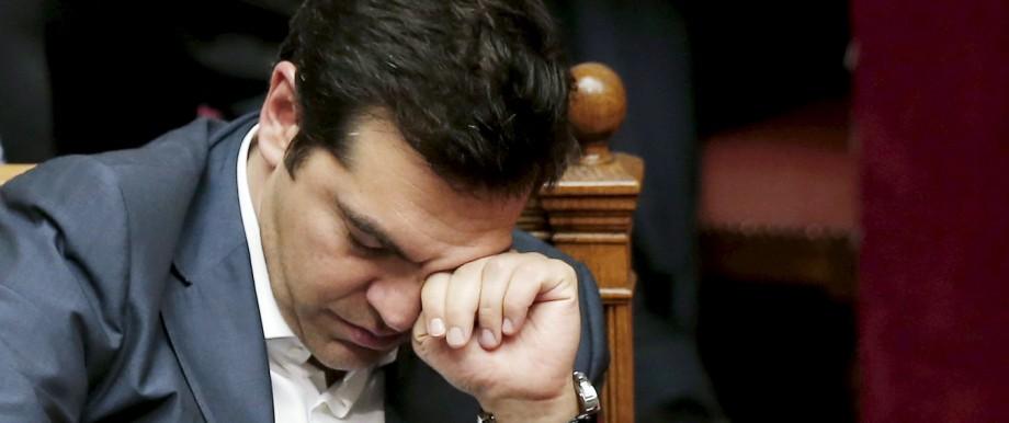 Tsipras Griechenland Krise