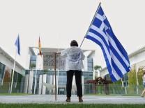Protest für Griechenlandhilfen