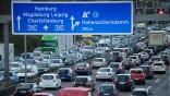 Stau Autobahn Ferien Urlaub