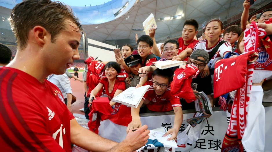 FC Bayern Audi China Summer Tour 2015 - Day 1