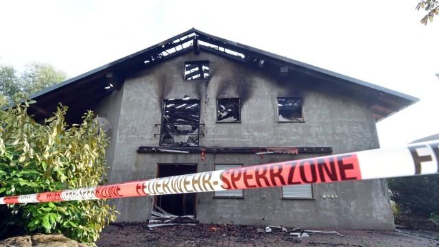 Brand in künftiger Asylbewerberunterkunft