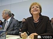 Angela Merkel Peter Ramsauer, Koalitionsverhandlungen, Schattenhaushalt, Sonderfonds, AP