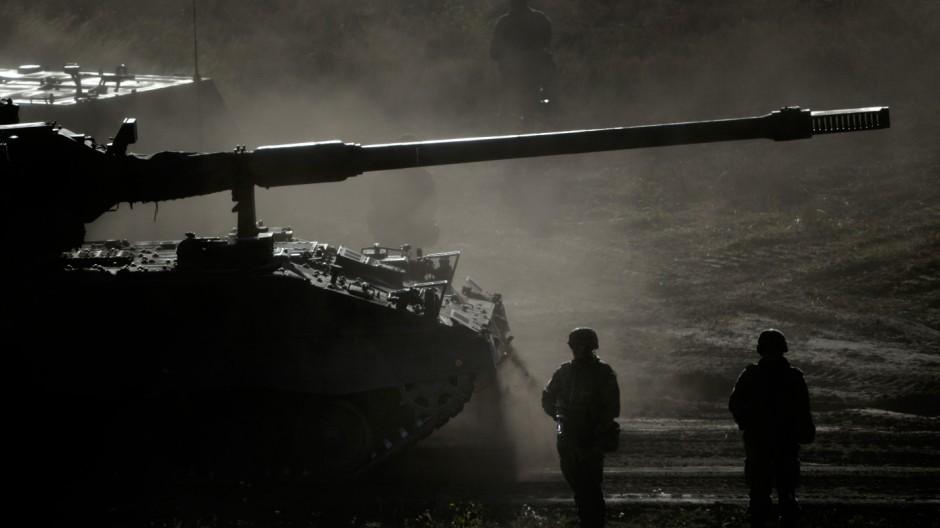 Bundeswehr-Übung Landoperationen