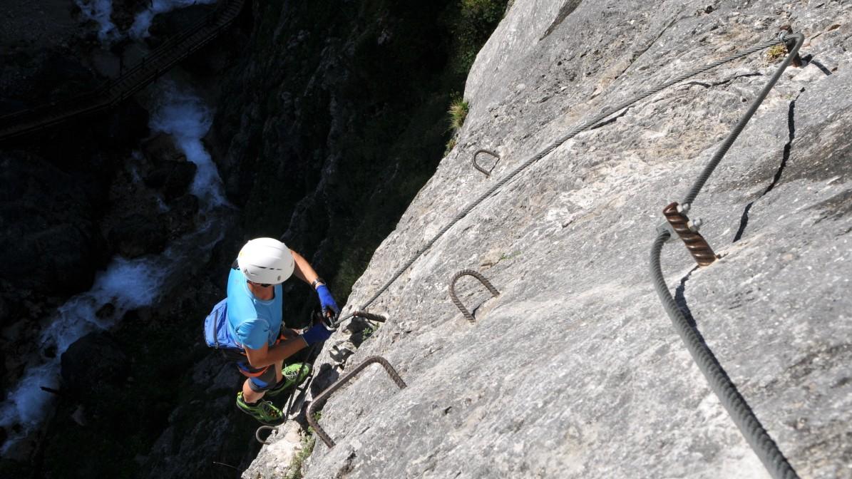 Klettersteig Ramsau : Klettersteige: was bergsteiger wissen müssen reise süddeutsche.de