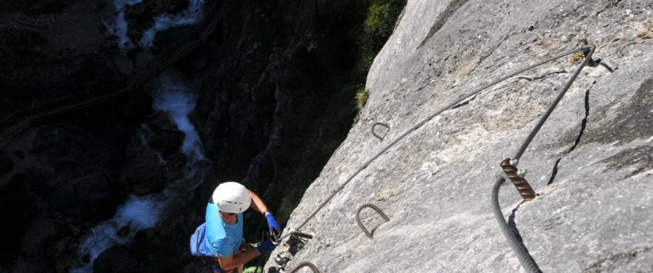 Klettersteig Rosina in Ramsau am Dachstein