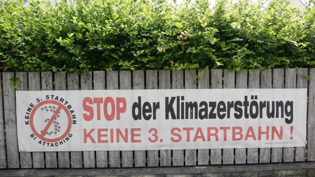 Dritte Startbahn Streit um Dritte Startbahn