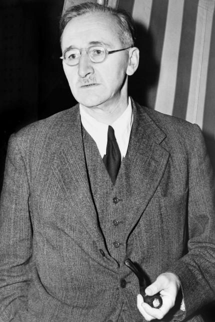 Friedrich August von Hayek 1889 1992 en 1948 Economiste autrichien Nobel d économie 1974 AUFNA