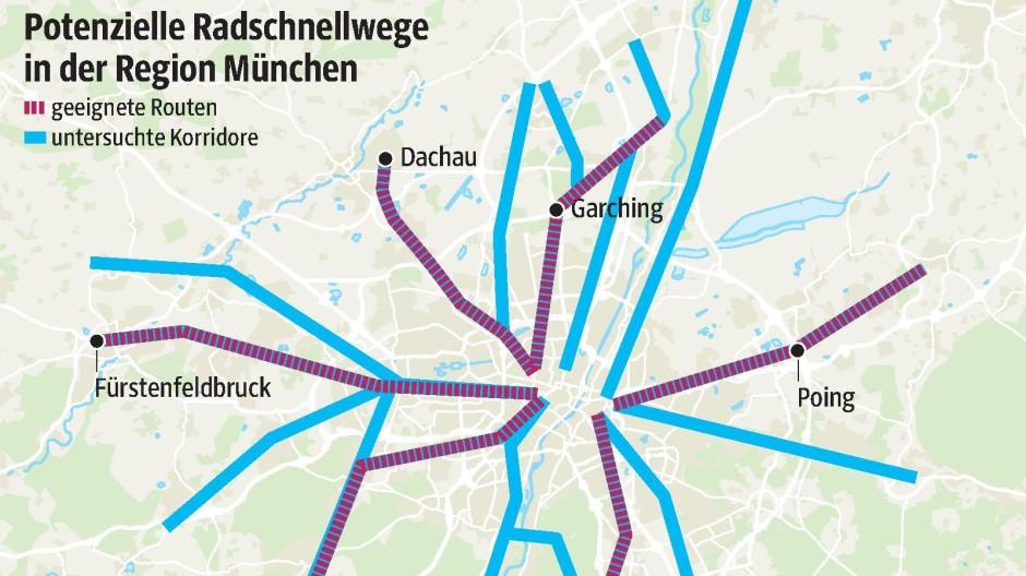 360° Problemstraßen in München Alternative für Pendler