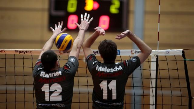 Herrsching: VOLLEYBALL 1. Bundesliga - GCDW v Berlin Recycling Volleys (Alba)