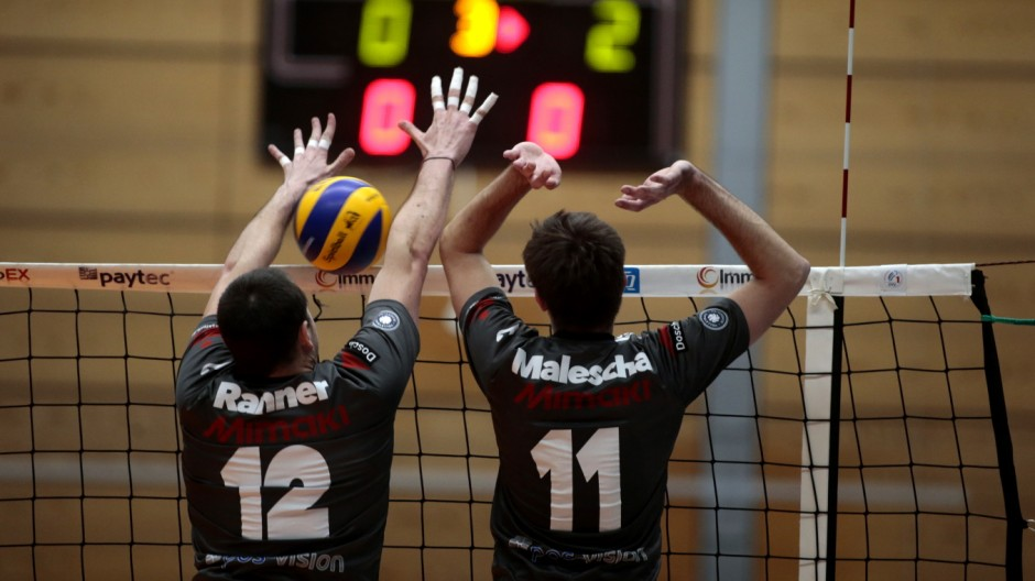 Herrsching: VOLLEYBALL 1. Bundesliga - GCDW v Berlin Recycling Volleys (Alba)