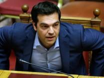 Alexis Tsipras Griechenland Schuldenkrise