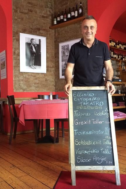 Griechenland am Abgrund Gastronom offeriert Krisengerichte