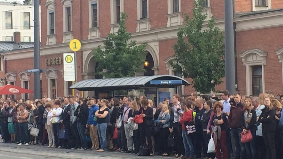 S-Bahn streikt, Chaos