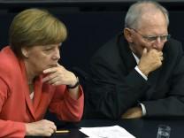 Angela Merkel Wolfgang Schäuble