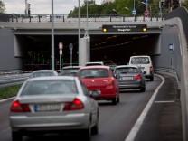 Eröffnung bzw. erster Tag in Betrieb: Luise-Kiesselbach-Tunnel