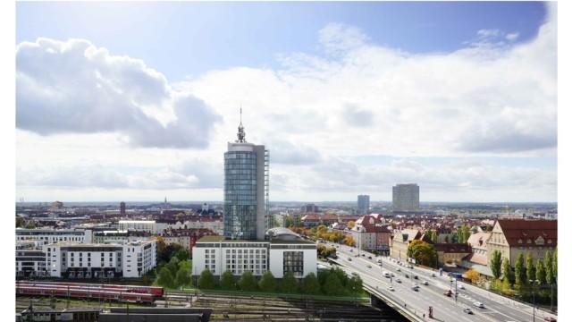 Architektur in München Neubau an der Schwanthalerhöhe