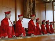 Richter des Ersten Senats des Bundesverfassungerichts, ap