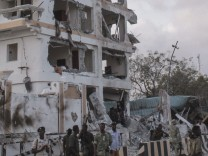 At least 10 killed in a hotel explosion in Mogadishu