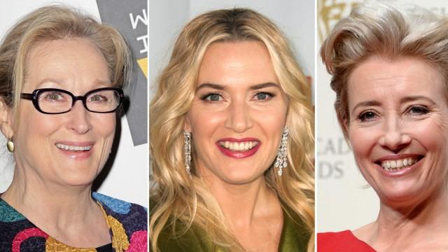 Meryl Streep, Kate Winslet und Emma Thompson