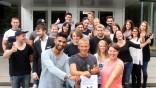 Berufsschüler entwerfen Turnierplan; Berufsschule Starnberg